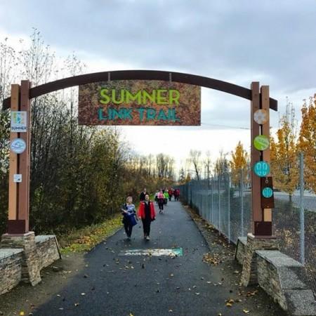 November 29   Opt Outside on the Sumner Link Trail (Group Walk)