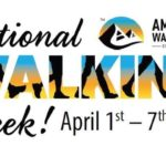 Cancelled  April 1- 7 – 7 Days of walking with AVA