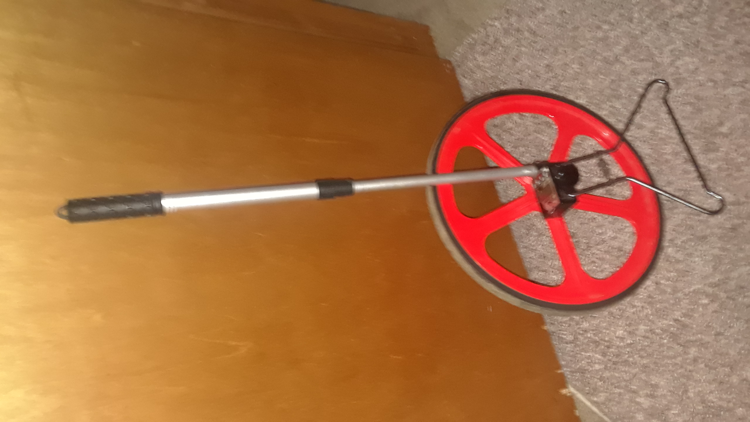 Electronic Distance Measuring Wheel